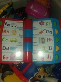 toddler's red and black alphabet learning toy Beckley, 25801