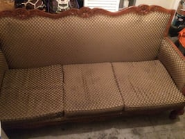 Sofa and Loveseat set all Handmade in Mexico.