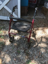 Walker with basket. Good condition. A little dusty from being in the garage.