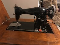 Normac sewing machine & table