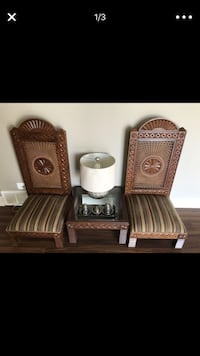 Set of antique Chairs and Table  Highland Park, 60035