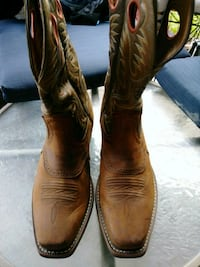 BROWN LEATHER BOOTS BY ARIAT League City, 77573