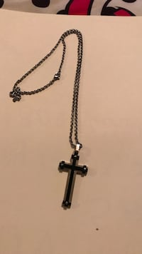 Stainless steel cross with chain  Killeen, 76542