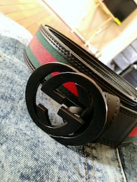 Green,red,black gucci belt Wayne County