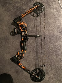 black and yellow compound bow Lancaster, 43130