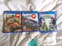 three assorted PS4 game cases Barrie, L4M 7E3