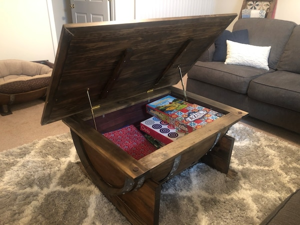 Wine Barrel Coffee Table.Wine Barrel Coffee Table Custom