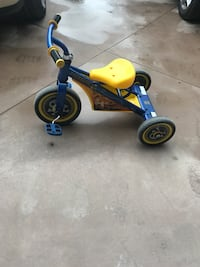 Toddler's blue and yellow trike Surrey, V3Z 1E1