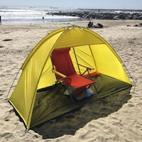 New in box Yellow Green Beach Tent Sun Shade South El Monte, 91733