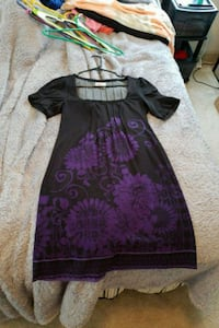 Black and purple dress size medium  Lawrenceville, 30043