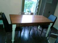 rectangular brown wooden dining table Montréal, H4H 1H3