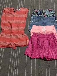 Jumper and 4 shorts size 8 Edmonton, T6W 3N6