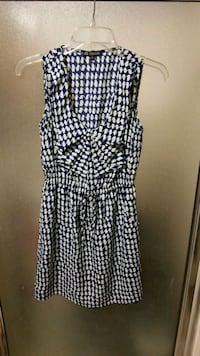 blue and white sleeveless dress Georgetown, 78626