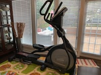 Black and gray elliptical trainer Alexandria, 22302
