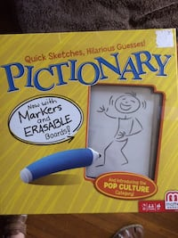 """PICTIONARY.. BRAND NEW """"With MARKERS and ERASABLE BOARD London, N6C 1J5"""