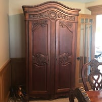 Hand Carved Armoire Johnston, 50131
