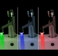 NEW, Multicolored Glow Water Tap LED changing Sensor, lot, $10 each