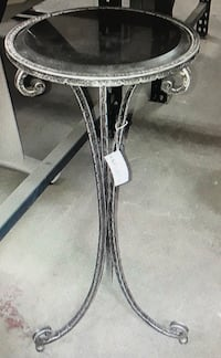 Silver Iron Decor Table Toronto, M6B 3Y1