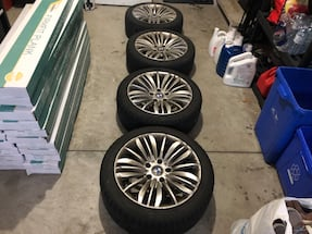 Toyo Winter Tires with BMW original wheels