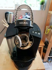 black and gray Keurig coffeemaker Surrey, V3R 0W4