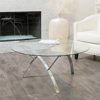 Round Glass Coffee Table Brampton, L6R 0H1