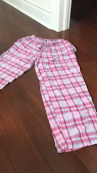 pink and white plaid pants Vaughan, L4J 9K9