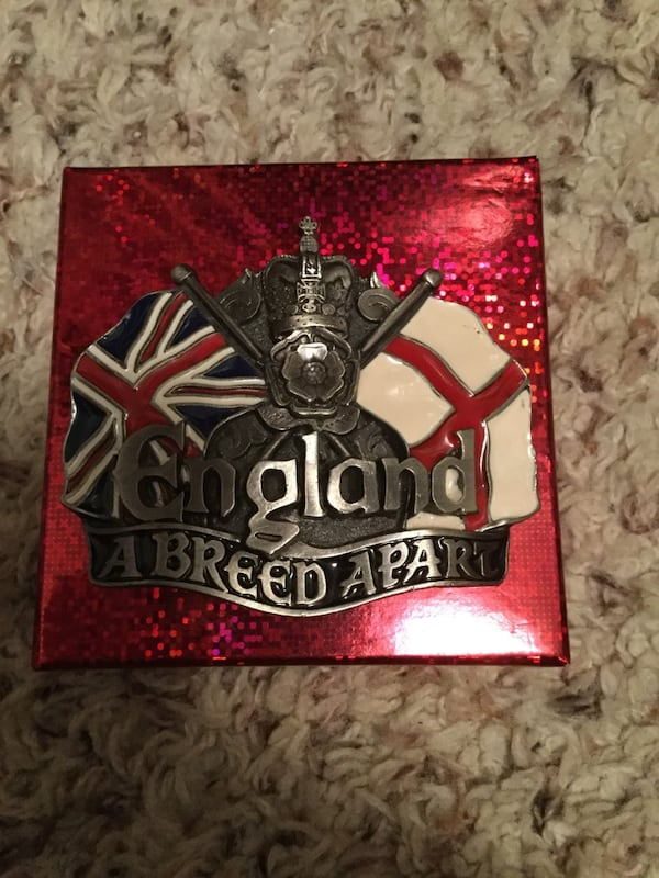 Never Used British Pewter Collectable Belt Buckle. e9a16c85-09c2-44f5-b5e0-65208077ae45