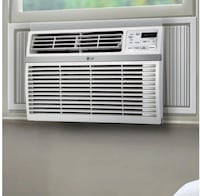 Air conditioner red cabinet brown cabinet