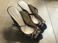 Leopard GUESS shoes  size 7 1/2  Burnaby, V5H 0E8