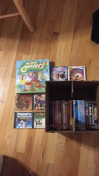 Movies, songs and board games Malden, 02148