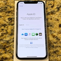 Apple iphone x 64gb black Hvalstad