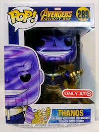 Funko Pop Metallic Thanos 289 Target Modesto, 95357