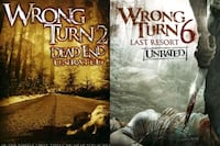 In Search Of on DvD... Wrong Turn 2 & 6 Red Deer