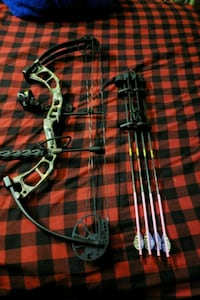 black and gray compound bow Cherry Hill, 08002