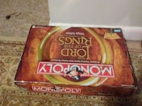 Monopoly The Lord of the Rings box Shelton, 06484