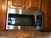 Kenmore stainless steel Microwave oven over the range Indian Head, 20640