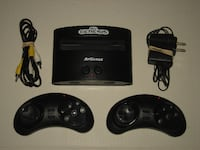 At Games Sega Genesis Video Game System