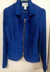 Blue ladies blazer - sz 8
