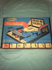 1959 retro Movieland theater with small proyector by REMCO Paterson, 07505