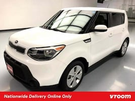 2016 Kia Soul Clear White hatchback