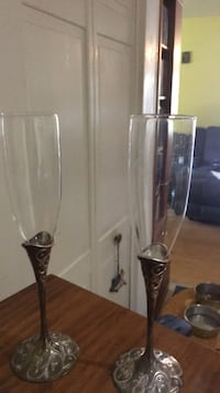 Glass Wedding flutes Germantown, 20876
