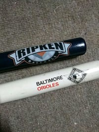 Orioles replica collectors bats Baltimore