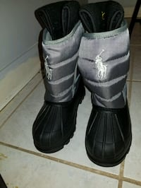 Kids polo boots size 13  Piscataway, 08854