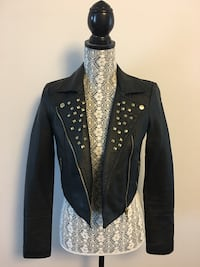 Dynamite Faux Leather Jacket $30 Calgary