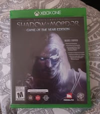 XBox Shadow of Mordor Game of the Year Edition  Calgary