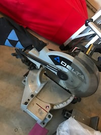 gray and black miter saw null, N0A