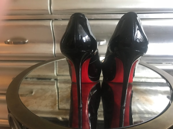 release date: ee94f 2e8a4 Christian Louboutin Pigalle Plato Pumps - Black Patent Leather