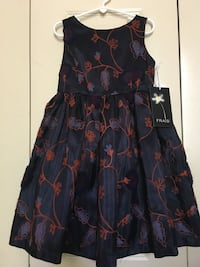 NEW Frais Embroidered Floral Dress, size 6 Reston, 20191