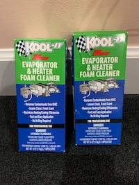 Kool - It foam car ac cleaner Chantilly, 20151