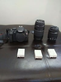 Canon t5i with two lenses and three batteries. Calgary, T2T 0H2